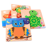 Toddler Puzzle Starter Set of 4