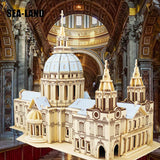 St. Paul's Cathedral Wooden Architectural Construction Kit For Kids & Adults