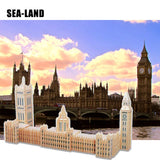 Palace of Westminster DIY Wooden Assembly Kit Hobby Gift For Family