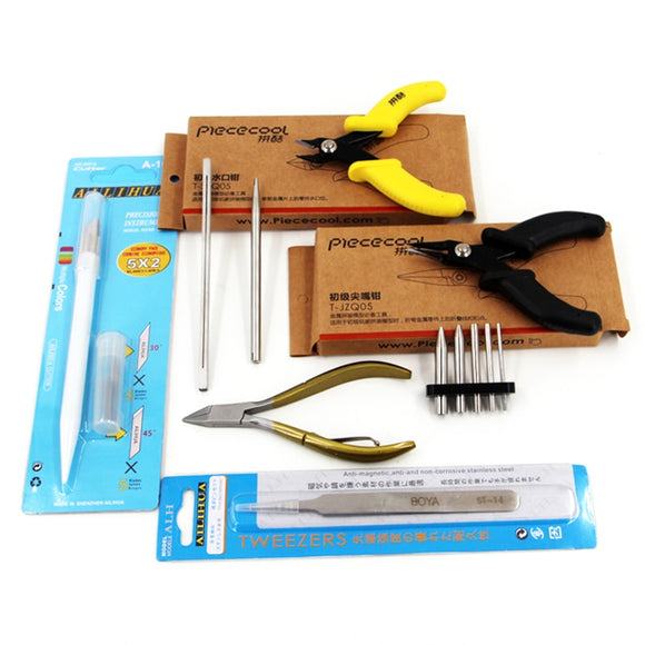 3D Metal Models Assembly Multipurpose Tools Set
