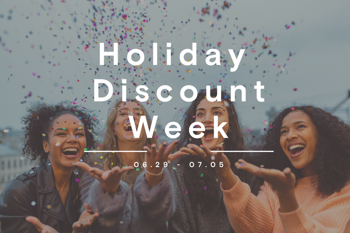 Holiday Discount Week