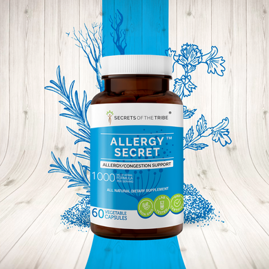Allergy Secret Capsules. Allergy/Congestion Support