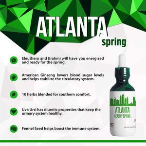 Atlanta Healthy Tincture, Herbal Extract Supplement for Optimal Human Health - secretsofthetribe