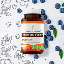 Load image into Gallery viewer, Bilberry Fruit Capsules