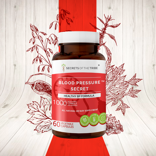 Blood Pressure Secret Capsules. Healthy Circulation Formula