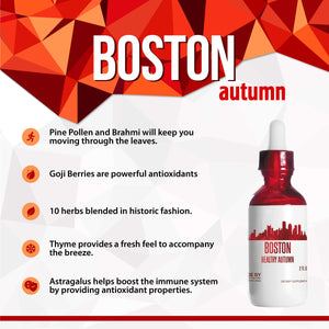 Boston Healthy Tincture, Herbal Extract Supplement for Optimal Human Health - secretsofthetribe