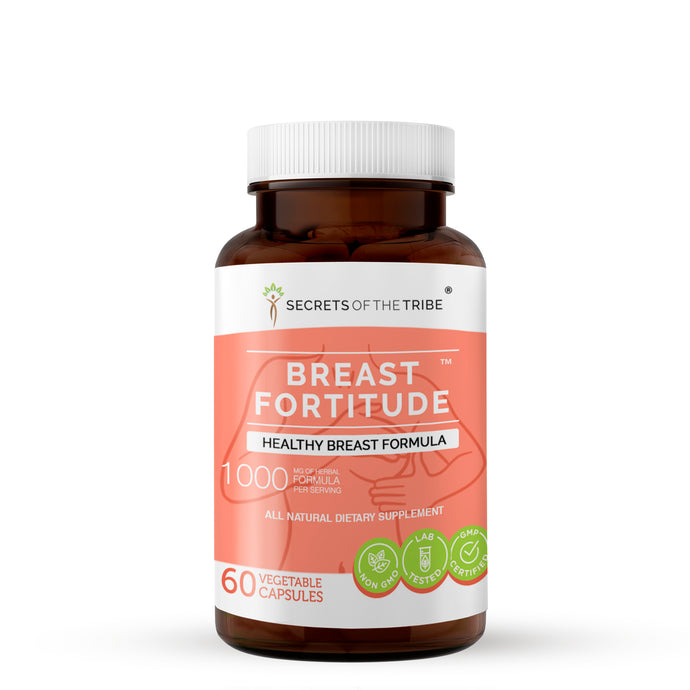 Breast Fortitude Capsules. Healthy Breast Formula