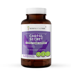 Carpal Secret Capsules. Carpal Tunnel Support