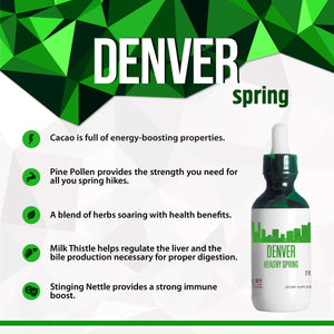 Denver Healthy Tincture, Herbal Extract Supplement for Optimal Human Health - secretsofthetribe