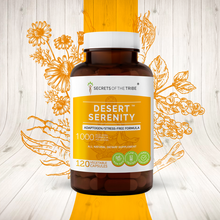 Load image into Gallery viewer, Desert Serenity Capsules. Adaptogen/Stress-free Formula