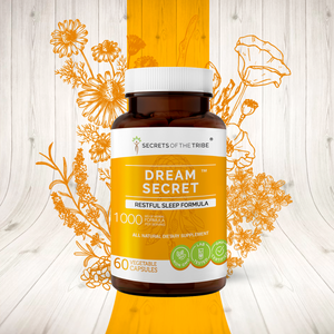 Dream Secret Capsules. Restful Sleep Formula