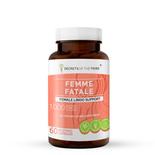 Load image into Gallery viewer, Femme Fatale Capsules. Female Libido Support