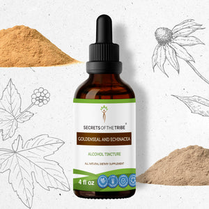 Goldenseal and Echinacea Tincture