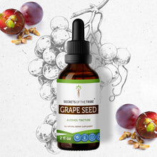Load image into Gallery viewer, Grape Seed Tincture Extract, Organic Grape (Vitis Vinifera) Dried Seed - secretsofthetribe