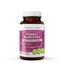 Load image into Gallery viewer, Herbal Munchies Capsules. Healthy Appetite Formula