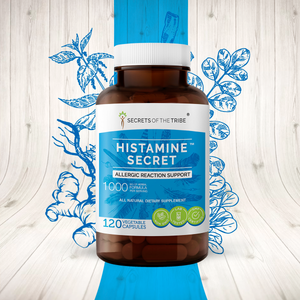 Histamine Secret Capsules. Allergic Reaction Support