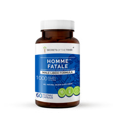 Load image into Gallery viewer, Homme Fatale Capsules. Male Libido Formula