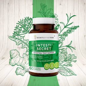 Intesti Secret Capsules. Intestinal Tract Support