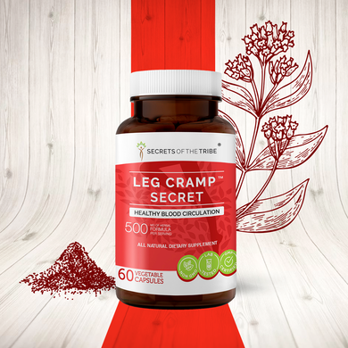 Leg Cramp Secret Capsules. Healthy Blood Circulation