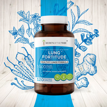 Load image into Gallery viewer, Lung Fortitude Capsules. Healthy Lungs Formula