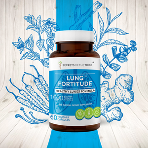 Lung Fortitude Capsules. Healthy Lungs Formula