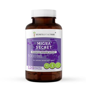 Migra Secret Capsules. Headache/Migraine Support