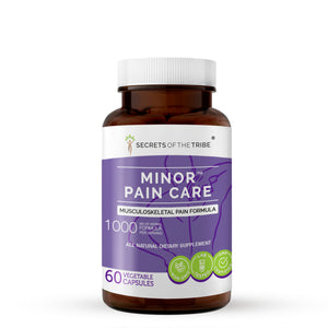 Minor Pain Care Capsules. Musculoskeletal Pain Formula