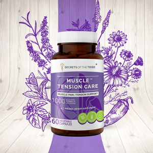 Muscle Tension Care Capsules.  Muscle Pain /Tension Support