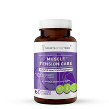 Load image into Gallery viewer, Muscle Tension Care Capsules.  Muscle Pain /Tension Support