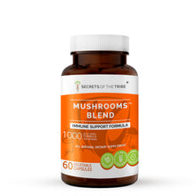 Load image into Gallery viewer, Mushrooms Blend Capsules. Immune Support Formula