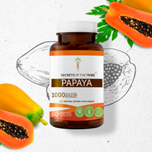 Load image into Gallery viewer, Papaya Capsules
