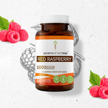Load image into Gallery viewer, Red Raspberry Capsules