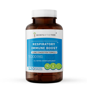 Respiratory Immune Boost Capsules. Lung Congestion Formula