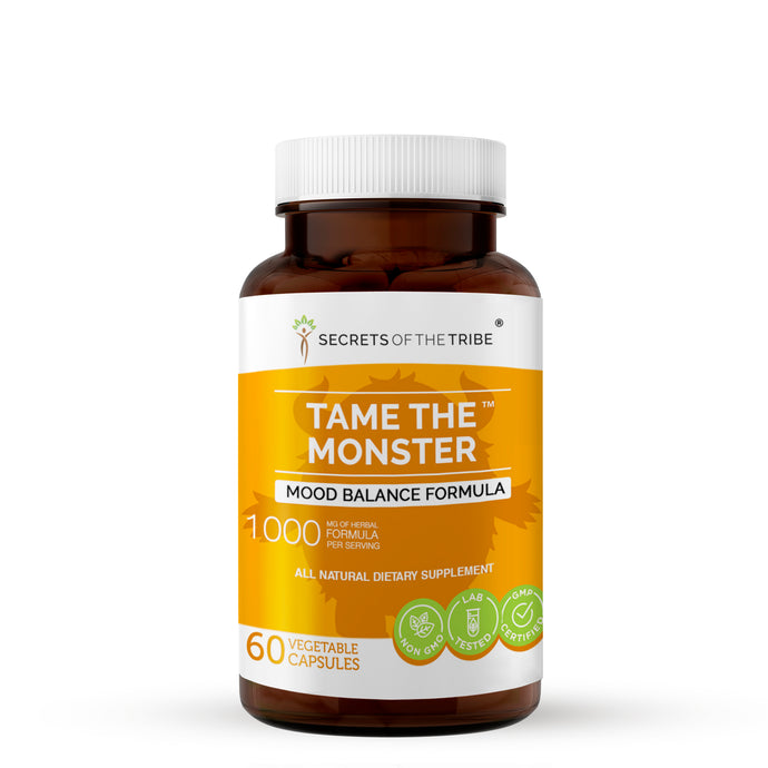 Tame the Monster Capsules. Mood Balance Formula
