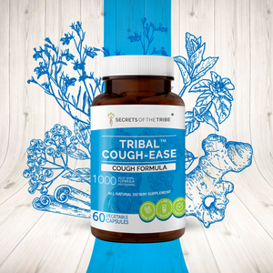 Tribal Cough-ease Capsules. Cough Formula