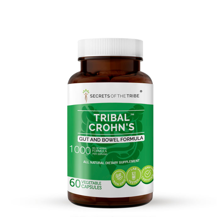 Tribal Crohn's Capsules. Gut and Bowel Formula