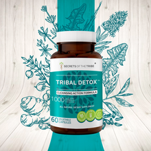 Load image into Gallery viewer, Tribal Detox Capsules. Cleansing Action Formula