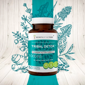Tribal Detox Capsules. Cleansing Action Formula