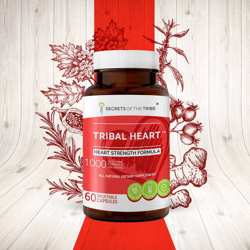 Tribal Heart Capsules. Heart Strength Formula