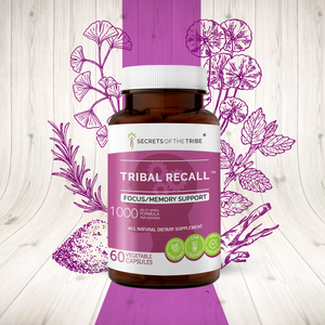 Tribal Recall Capsules. Memory Support