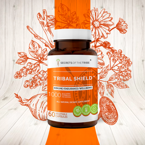 Tribal Shield Capsules. Immune/Endurance/Wellbeing