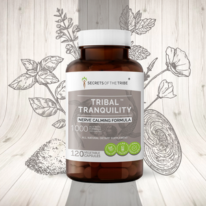 Tribal Tranquility Capsules. Nerve Calming Formula