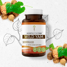 Load image into Gallery viewer, Wild Yam Capsules