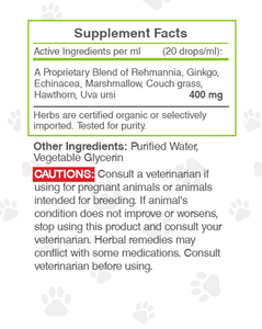 Wolf's Kidney. Healthy Kidney Function Support in Dogs