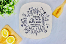 Load image into Gallery viewer, Beeswax Casserole Dish Cover - Hum of The Bees