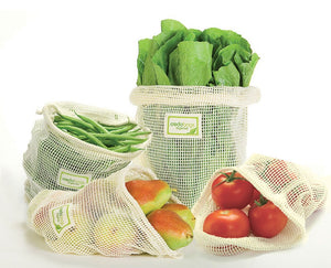 Mesh Produce Bags - Set of 3