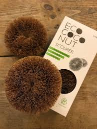 Eco Coconut Scouring Pads, set of 2