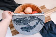 Load image into Gallery viewer, Bowl Covers - Set of 2 (L,XL) , Whale