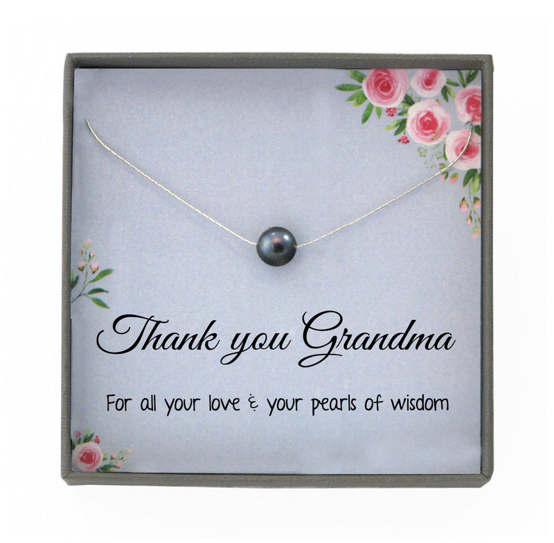 Grandmother Necklace Gift for Grandma Gift for Grandmother Gift Thank You Grandma from grandkid, gift from grandson, gift from granddaughter