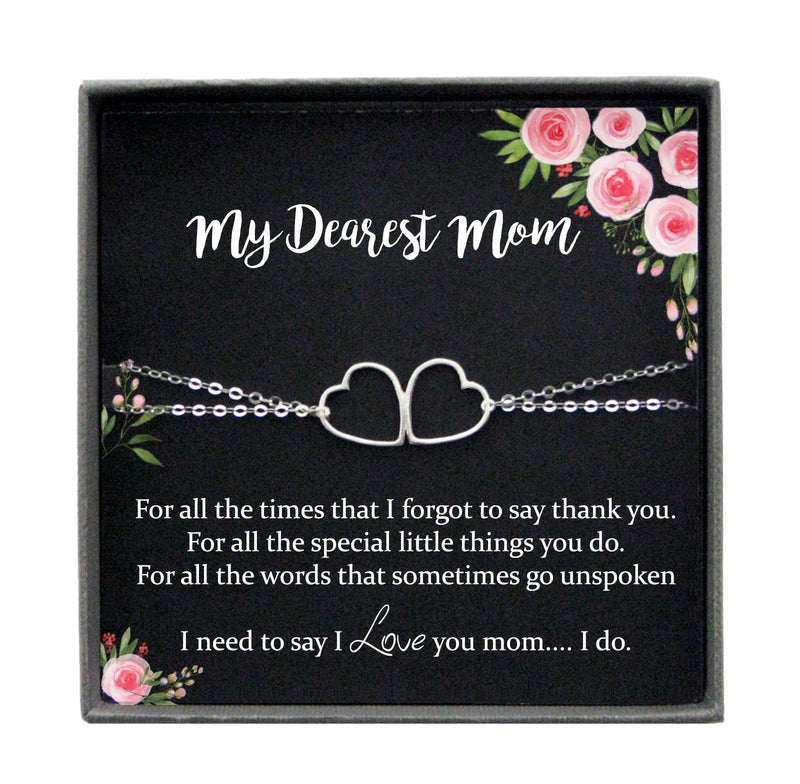 Mom Gifts from Daughter Gifts for Mom from Daughter Mother Daughter Bracelet, Mother Gift from Daughter